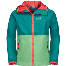 Jack Wolfskin Rainy Days Jacke Kinder spring green